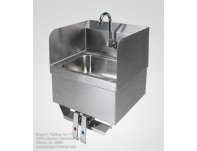 Hand Sink w/Splash Guard Knee Valve