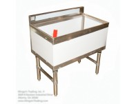 Ice Bin with Cold Plate 18x48