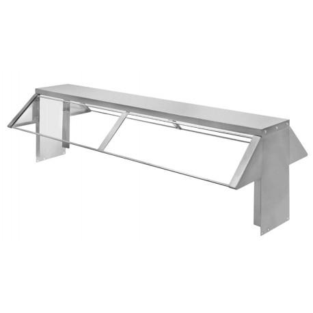 4 Hole Steam Table Buffet Shelf
