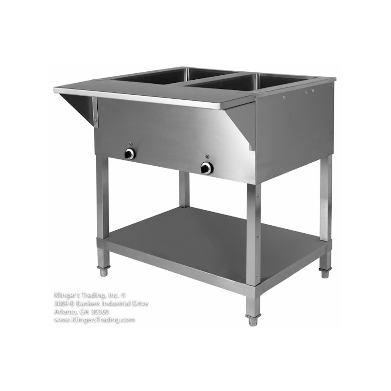 Home KlingersTrading - 3 bay electric steam table