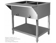 2 Hole Electric Steam Table
