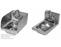 SSPHS-1319 Sink W/ Splashguards