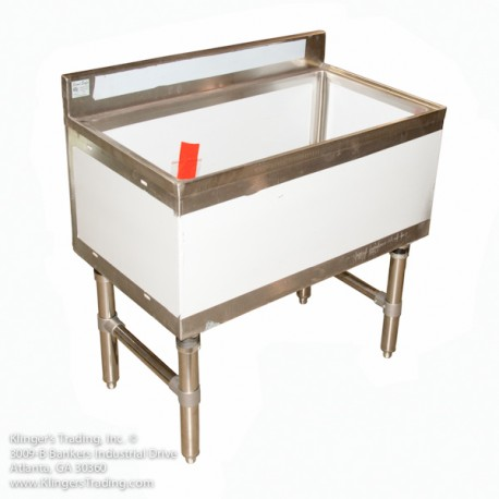 Ice Bin with Cold Plate 18x30