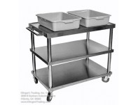 Large All Stainless Service Cart
