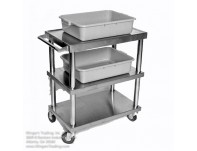 Small All Stainless Service Cart