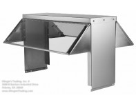 5 Hole Steam Table Serving Guard