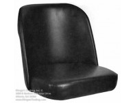 Black Bucket Cushion for SR-5 and SR-6