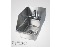 Drop-In Hand Sink w/Splash Guard