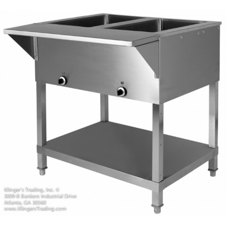3 Hole Electric Steam Table