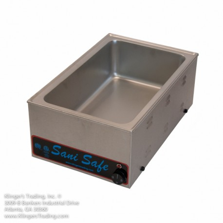 1 Hole Electric Steam Table