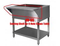 4HSS Steam Table Shelf